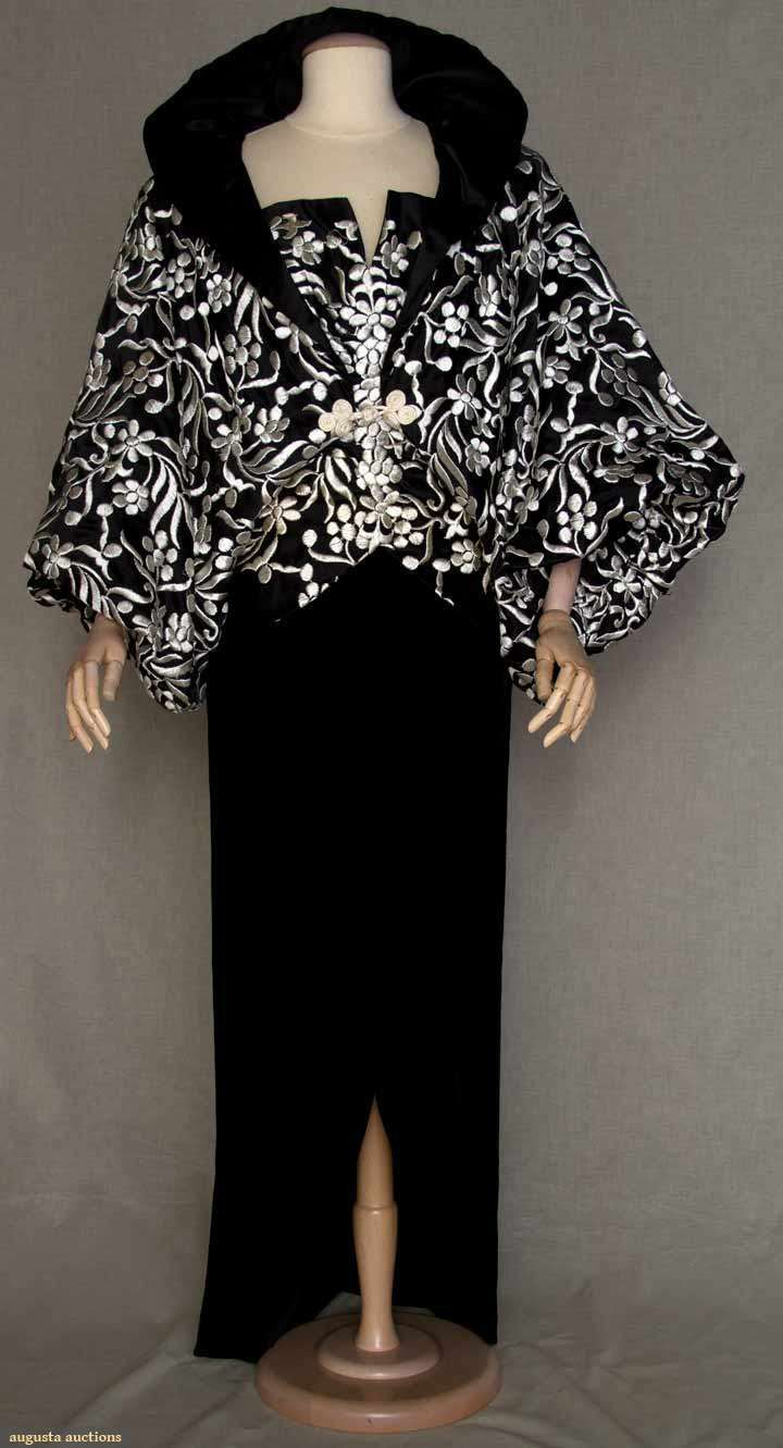 Victor Edelstein Ballgown & Jacket, 1980s, Augusta Auctions, March 30, 2011 - St. Pauls, Lot 185