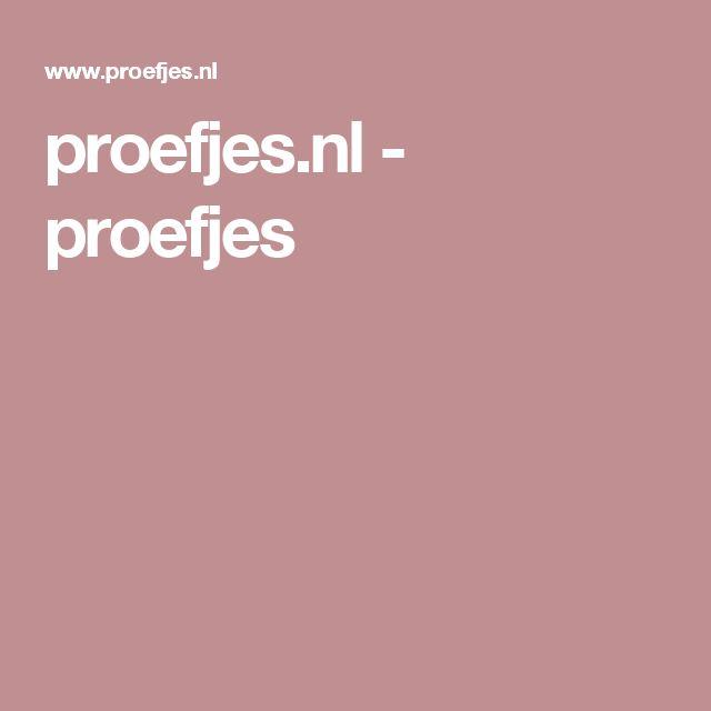proefjes.nl - proefjes