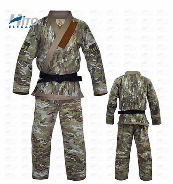 Source Hito Elegant 100% cotton bjj brazilian jiu jitsu gi kimonos uniforms suits HE-BJJ-0010 on m.alibaba.com
