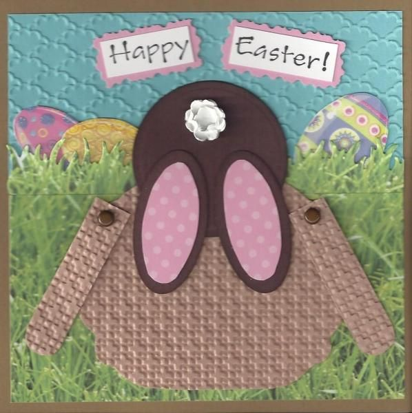 Easter Bunny 2014 by Penny Strawberry - Cards and Paper Crafts at Splitcoaststampers