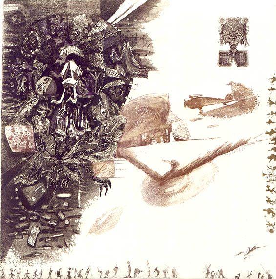 Victor Pelevin's «Generation П» Illustration by Anastasia Poniatovskaya
