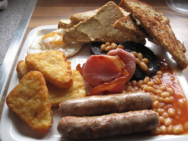 Fry up - take the mushroom away and this is perfect