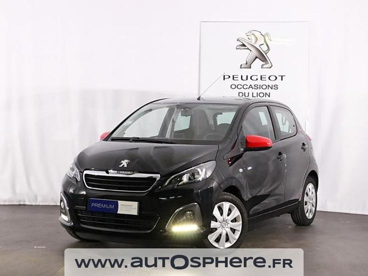 PEUGEOT 108 citadine 1.2 PURETECH essence ENVY 5P portes 2016 d'occasion garantie 12 mois. Reprise - Financement - Extension de garantie possible. Saint Cyr sur Loire - Tours - PEUGEOT GRANDS GARAGES DE TOURAINE