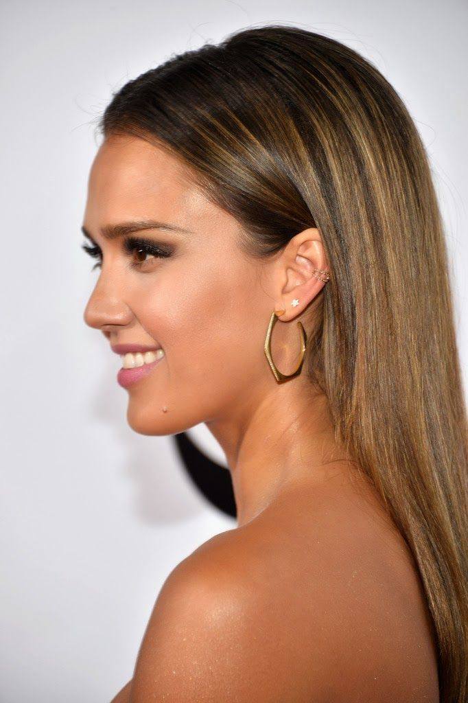 Jessica Alba In Lancme And Jason Wu At The Peoples