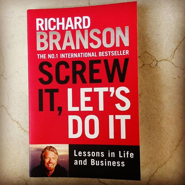 Richard Branson is one of my hero's and his books don't disappoint! #business #entrepreneur