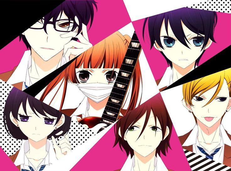 Anunciados los artistas de temas de opening y ending del Anime Fukumenkei Noise.