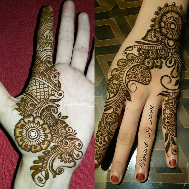See this Instagram photo by @mehndi_by_hayat • 1,401 likes