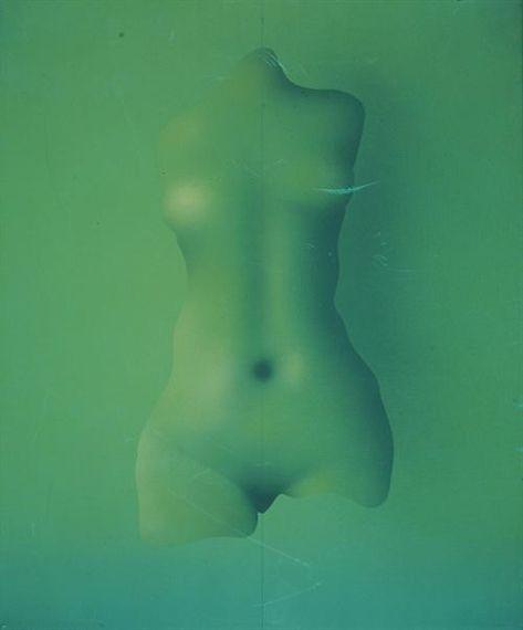 Paul Wunderlich - Torso, 1967, oil on canvas