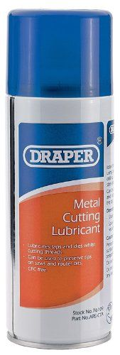 From 6.82:Draper 76109 400ml Metal-cutting Lubricant
