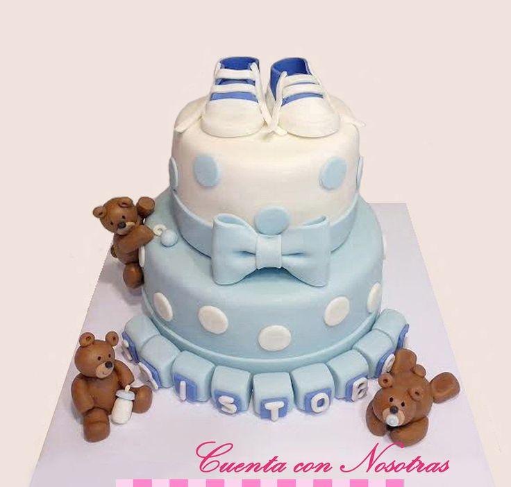 Torta Baby Shower Torta ositos Baby Shower Cake Teddy Bear Cake