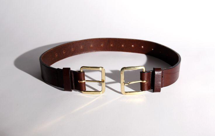 Jonny Briggs   Belt   2011   Leather, brass   30x30x5 cm