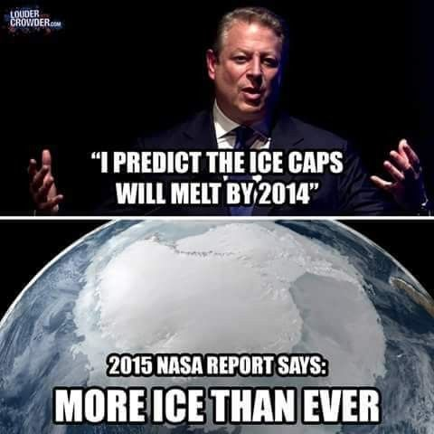 "Al Gore, just like that claim that he ""invented the internet"", is just a Big Fat Liar!"