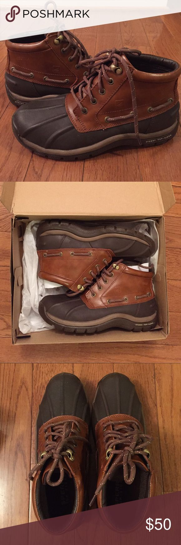 Men's Shoes Sperry Top Sider Glacier Chukka Sperry Top Sider Glacier Chukka in Tan/Brown Men's shoes. rubber outsole with wave-siping provide on the road/off-road wet/dry traction. Sperry Top-Sider Shoes Winter & Rain Boots