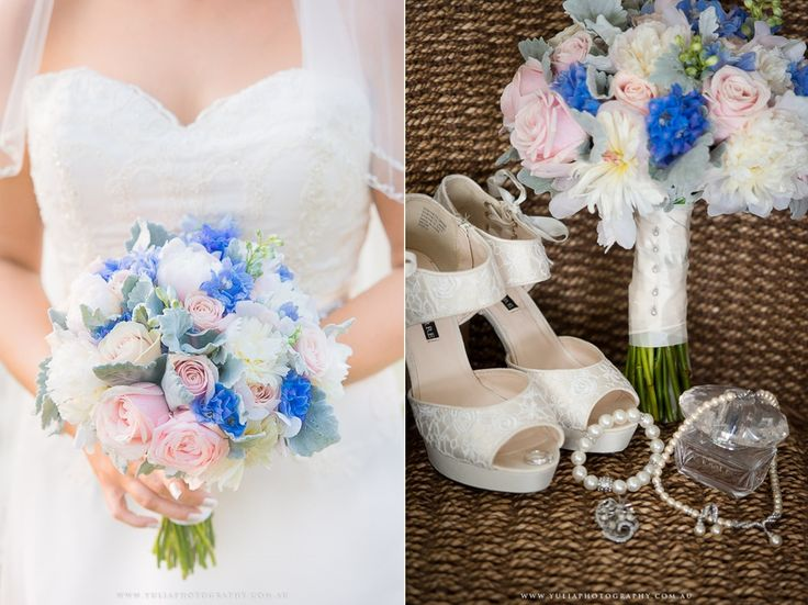 Something blue for your wedding day! ~Sydney wedding photography by Yulia Photography~ www.yuliaphotography.com.au