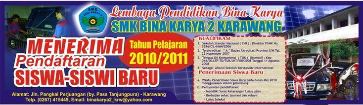 Contoh Banner SMK