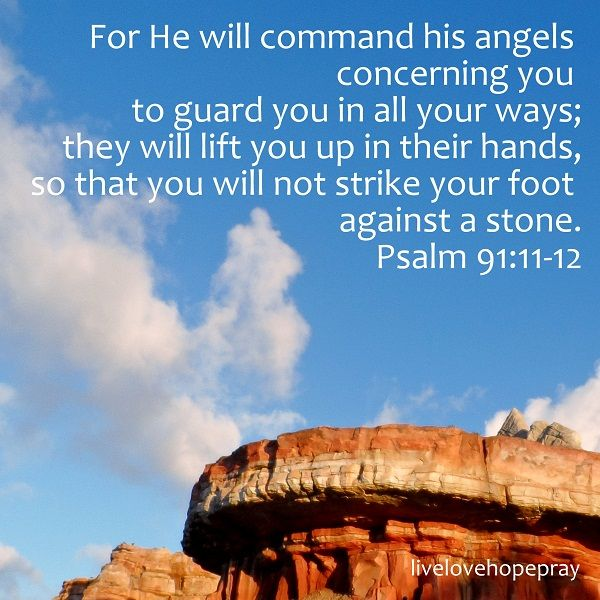 Psalm 91:11-12