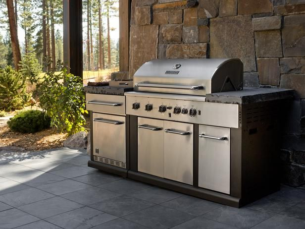 23 best images about grill on pinterest painted brick for Outdoor kitchen refrigerators built in