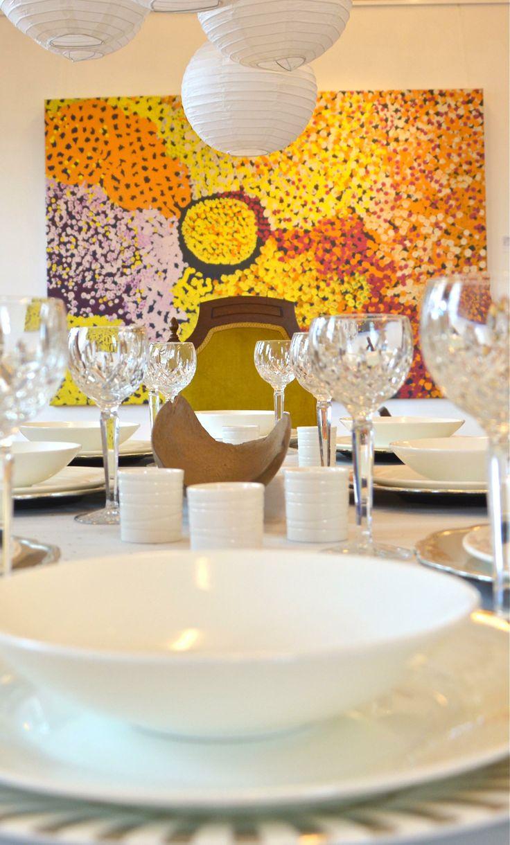 Vast Interiors - four renowned interior designers transformed Kate Owen Gallery in a unique installation that fused contemporary interior design & Aboriginal art. www.kateowengallery.com/page/vast-interiors