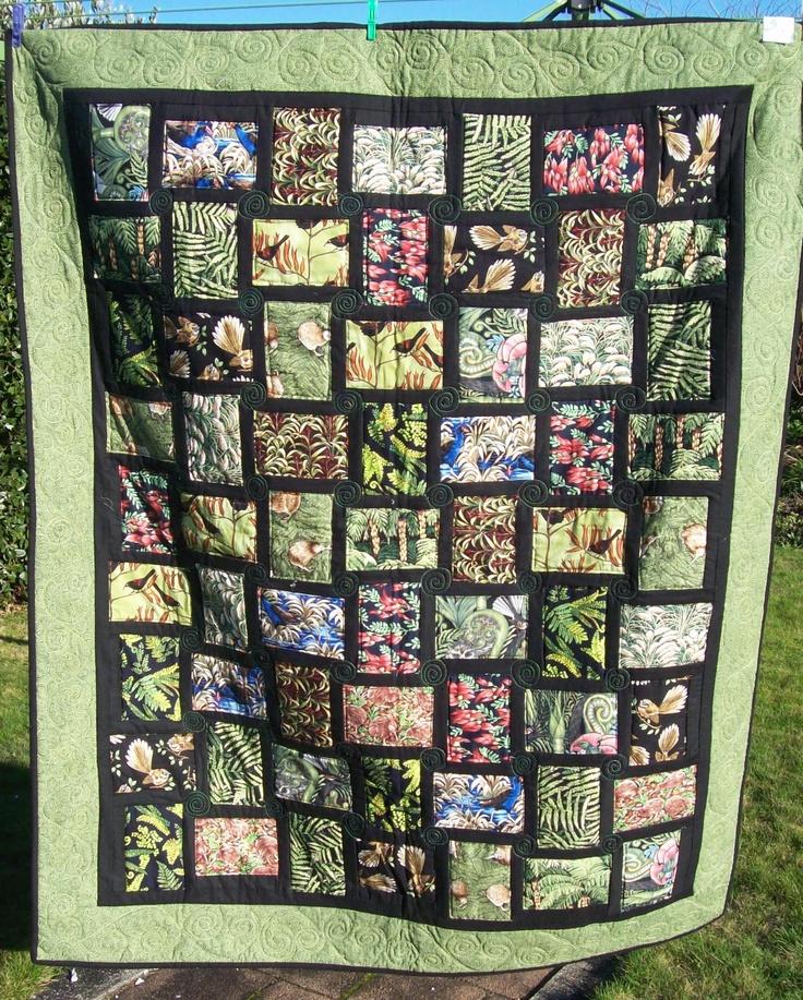 New Zealand fabrics.