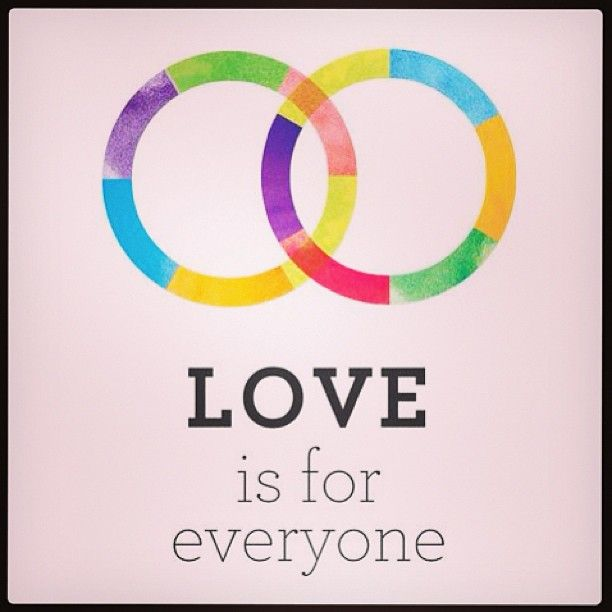 There's so much to celebrate and be thankful for today!! <3 #equality