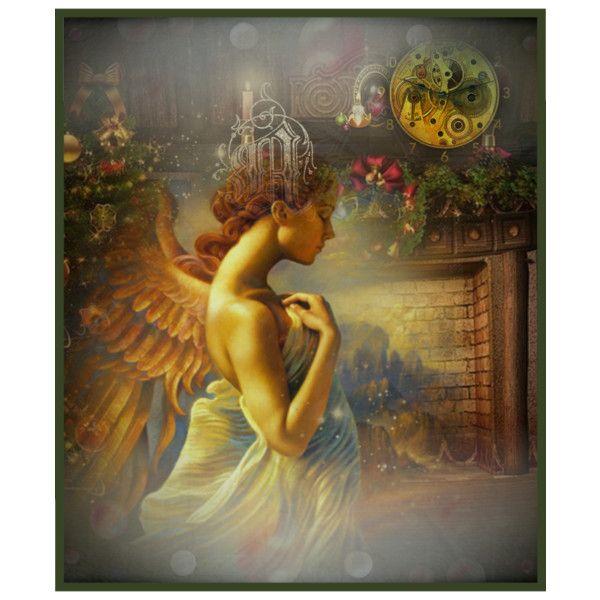 """""""Buon Natale e Buone Feste a voi cuori tenerissimi ... bocche da baci ... ♥♥♥ ..."""" by fairy-world on Polyvore"""