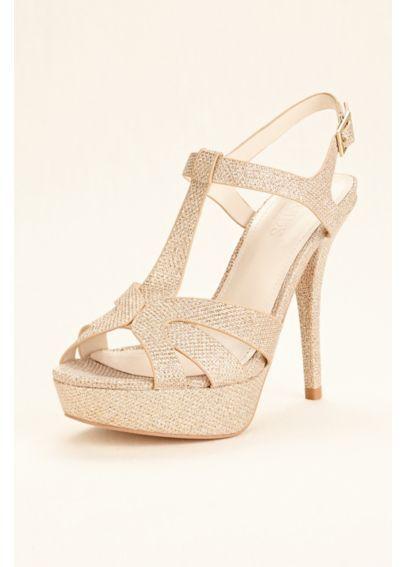 T Strap High Heel Platform Sandal LOLAH