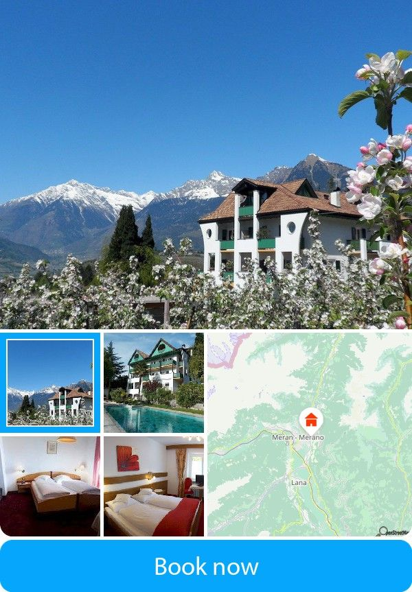 Hotel Pension Verdorfer (Merano, Italy) – Book this hotel at the cheapest price on sefibo.