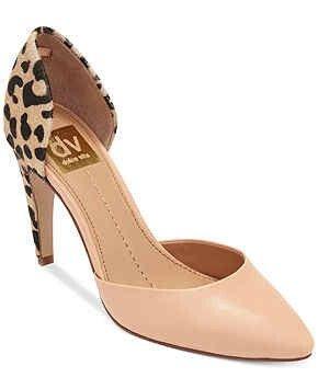 Hermosos zapatos en cuero Nude y estampado Animal Print.