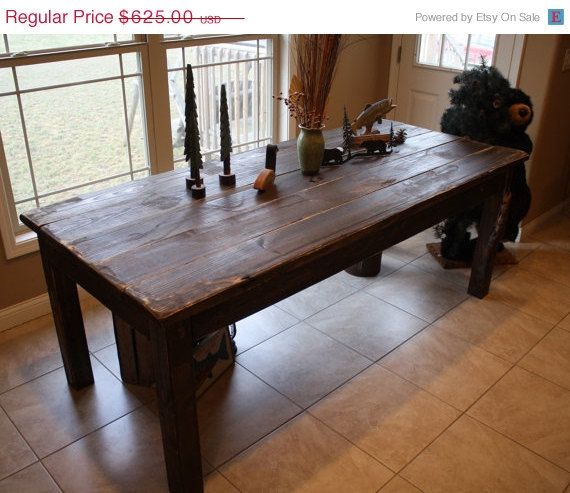 Primitive Kitchen Table And Chairs: 17 Best Ideas About Farmhouse Kitchen Tables On Pinterest