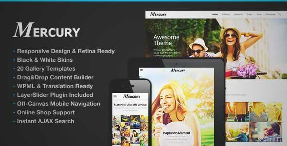 Download and review of Mercury Responsive Portfolio Photography Theme, one of the best Themeforest Creatives themes {Download & review at Review and download at} { -> }http://best-wordpress-theme.net/mercury-responsive-portfolio-photography-download-review/