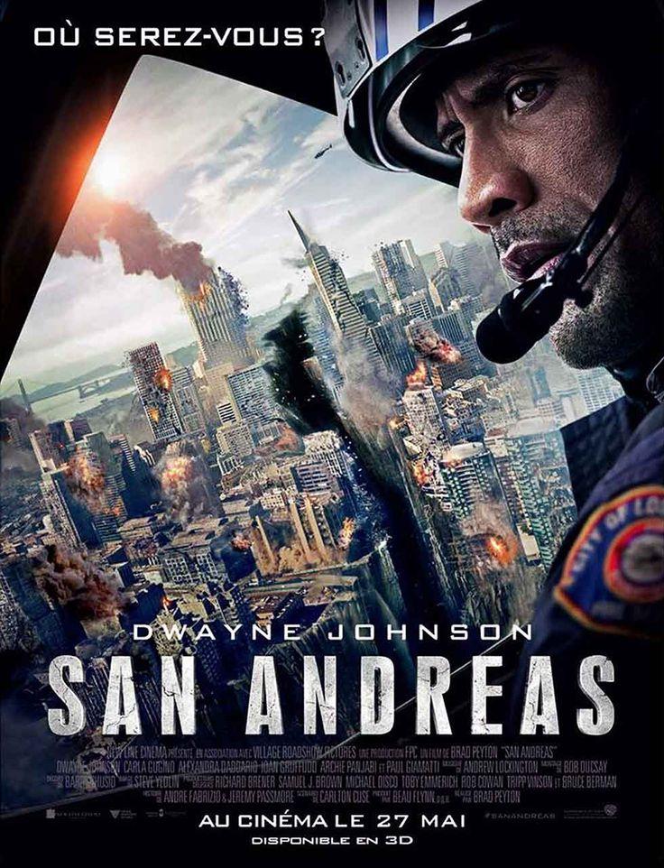 San Andreas - Affiche France avec Dwayne Johnson