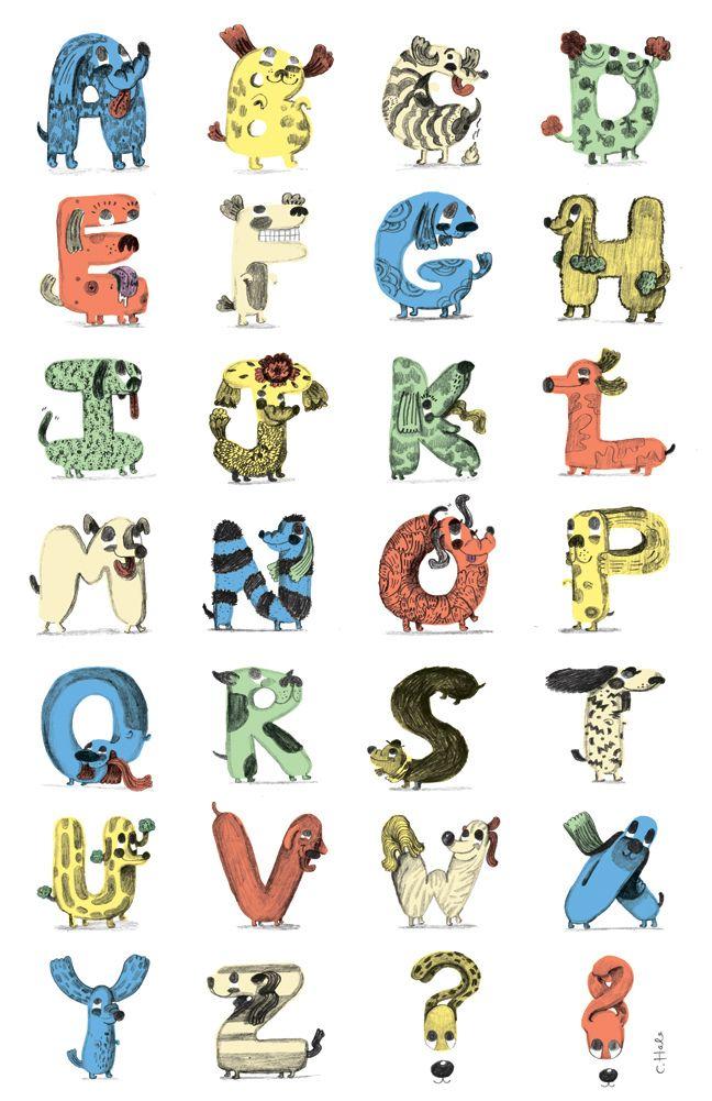 Dog font, dog font! Yay! http://dahgblahg.blogspot.com/2011/10/dogphabet.html