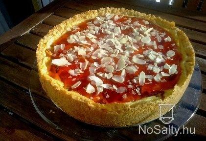 Tejfölös gyümölcstorta http://www.nosalty.hu/recept/tejfolos-gyumolcstorta