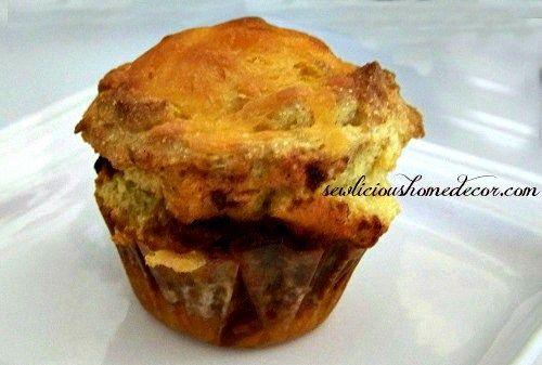 Chili cornbread muffins