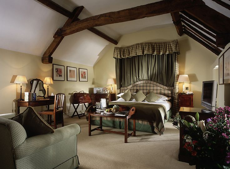 County House Hotel | Calcot Manor interior design by Ward Robinson | Cotswold