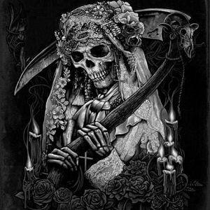 Amarres De Amor Con La Santa Muerte Santa Muerte Tatuajes De