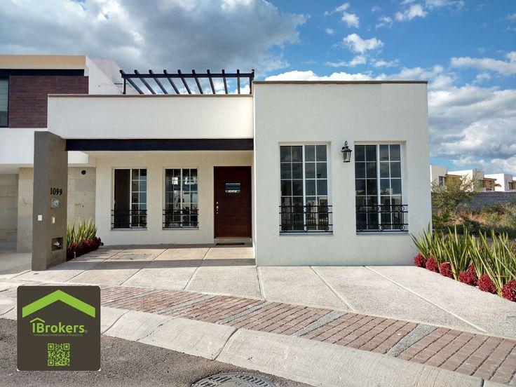 Casa en Venta Juriquilla La Condesa. Un Nivel con Roof Garden. 2 Rec. $2,550,000