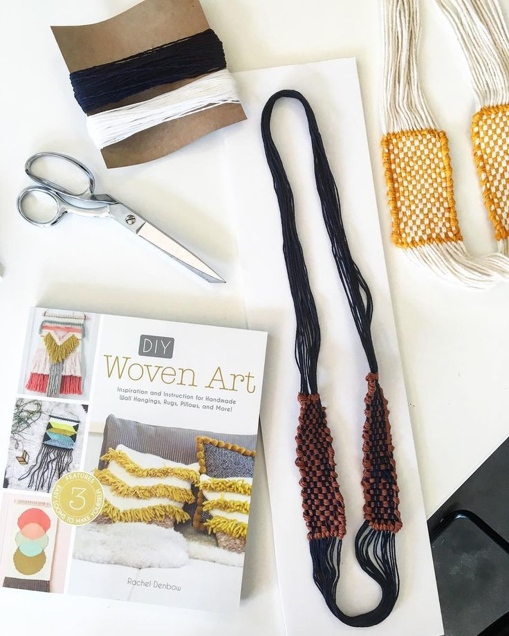 #DIY Woven Infinity Necklace