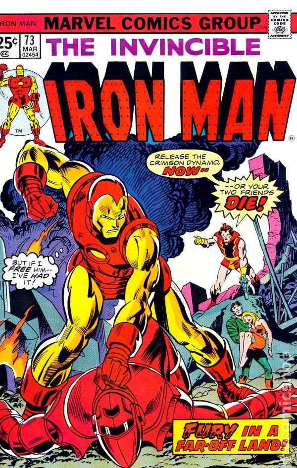 Iron Man (1968 1st Series) 73 | Amazing Marvel Solo Acts ...