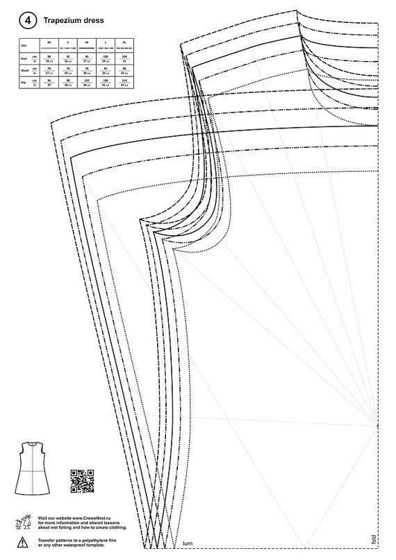 Patterns for wet felting by LybaV on Etsy