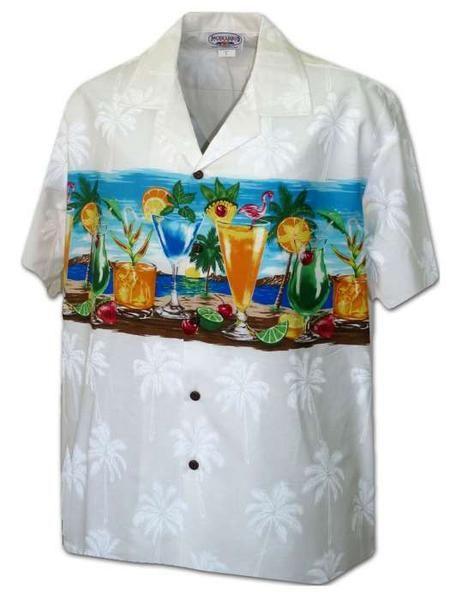 Aloha Shirt - Island Cocktail Party