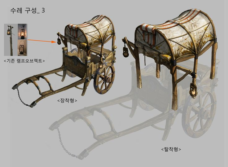수레_04, KKS ~ on ArtStation at http://www.artstation.com/artwork/wagon-c7c8caf6-904b-414f-927c-03f8a60f2593