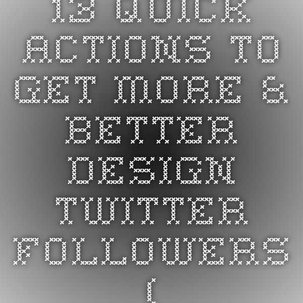 What to do for more twitter followers