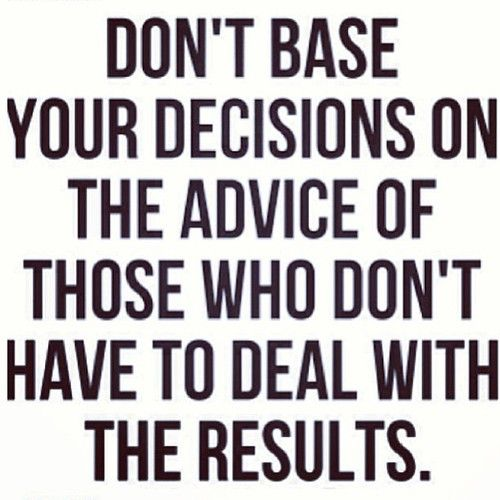 alittlebitfurther:  Repost from @Allison McGevna  #truth #advice #decisions