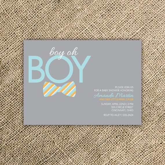 think i found the invitations l o v e bow tie baby shower invitation