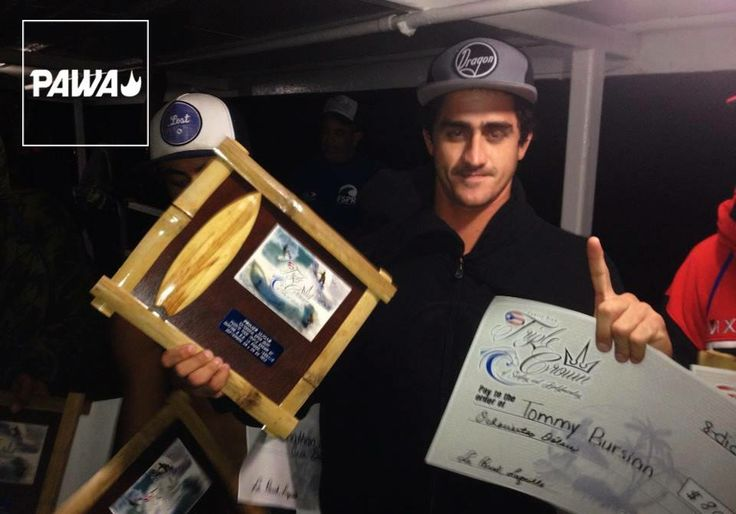Tommy takes on the Triple Crown in PR. Congrats Tommy.... #pawasurf #pawasurfco #pawa #tommybursian  @bursianT