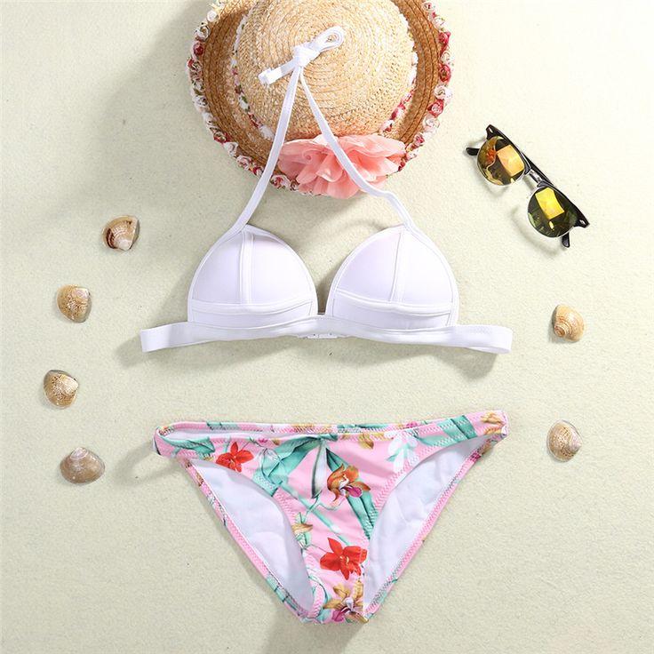 Bikini Summer Style Sexy Beach Swimwear Ladies Push Up Swimsuit Women Bathing Suit Brazilian summer beach bikinis swimwear 2016