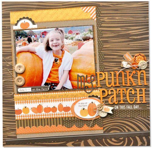 My Punk'n in the Patch *Bella Blvd* - Scrapbook.com