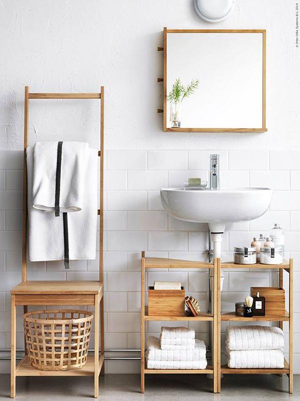 Leuke combinatie tussen de verschillende #badkamermeubels in deze #badkamer.