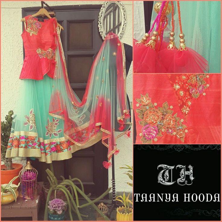 Taanya Hooda pret couture lehenga